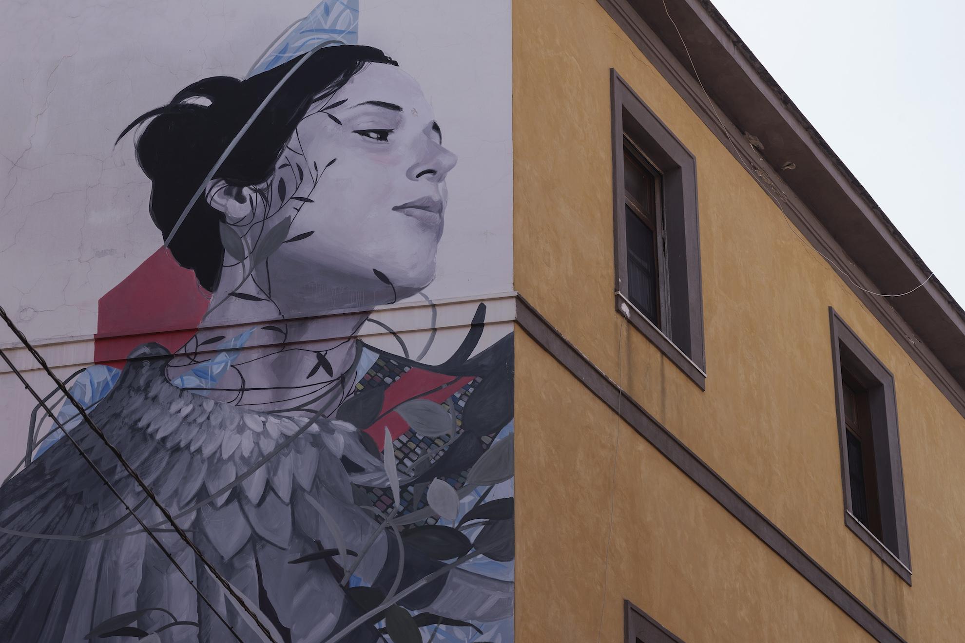 Il murales di Francisco Bosoletti a Materdei - Ph. Anna Monaco - Trentaremi