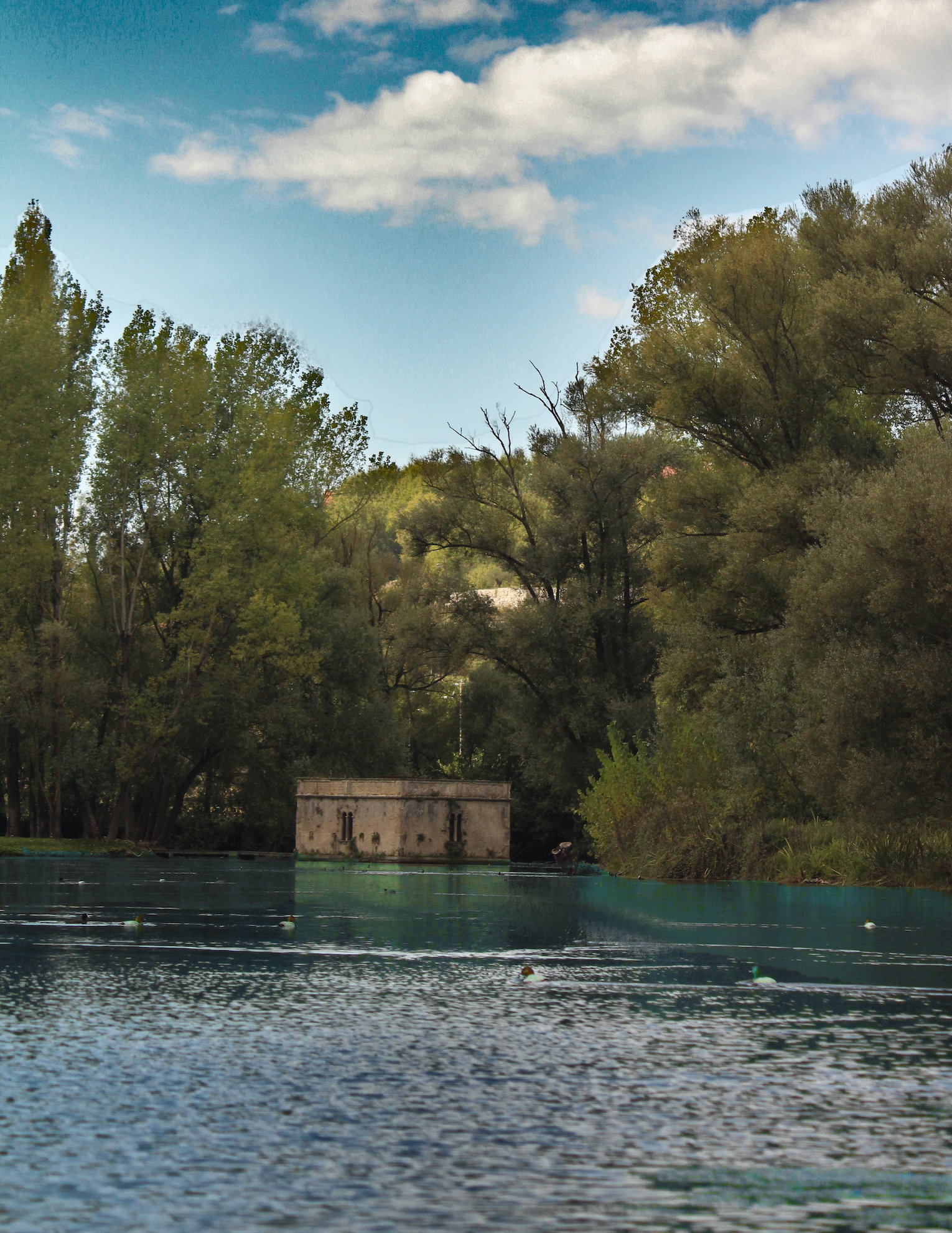 La peschiera di Villa Gallio | Ph. Federico Cadalanu - Trentaremi